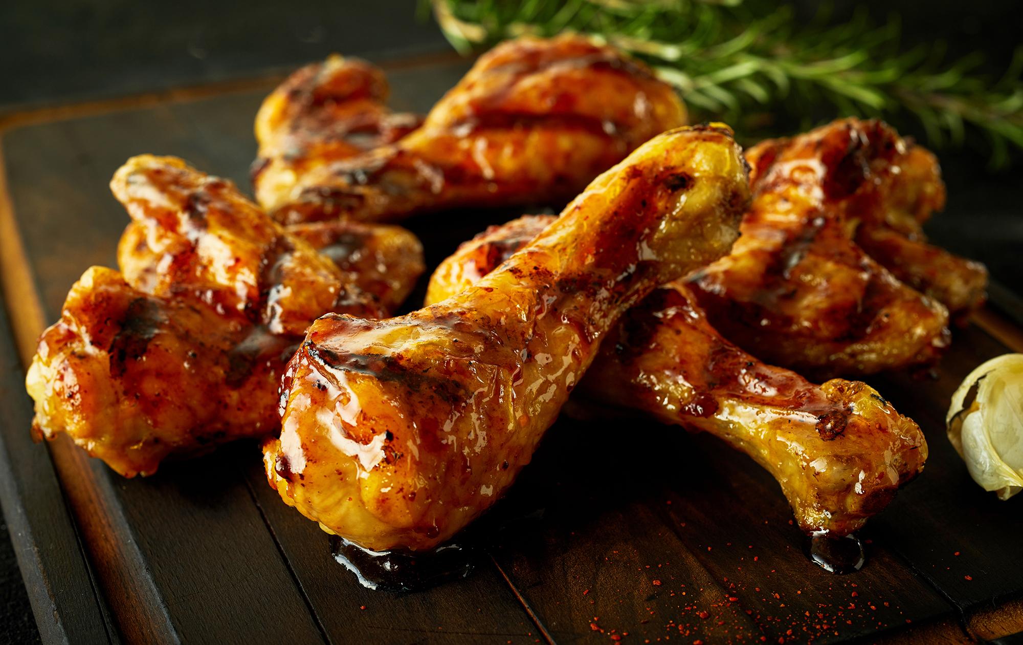 hubers landhendl - chicken wings mit rosmarin